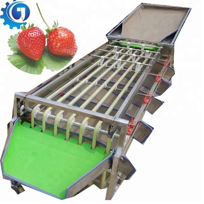 Orbital type fruit automatic sorting machine size grading machine no harm for fruit
