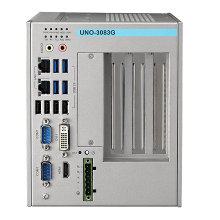 Advantech Intel Core i7/Celeron 800 série D'automatisation Ordinateurs avec 3/5 PCI (e) slots d'extension, UNO-3083G-D44E