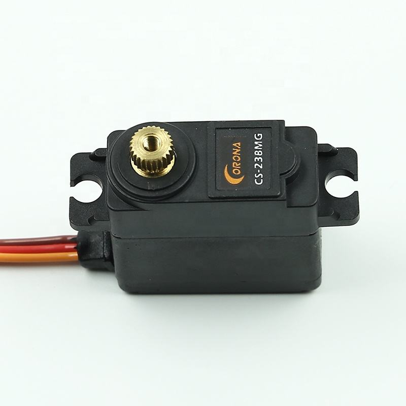 China Corona CS238MG rc helikopter of rc auto mini analoge servo motor