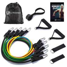 2019 wholesale  latex resistance bands exercise resistance tube bands