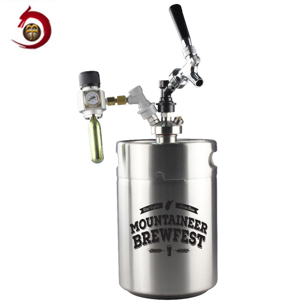 Party Gift Food Grade 304 Ss Mini 5 Liter Biervat