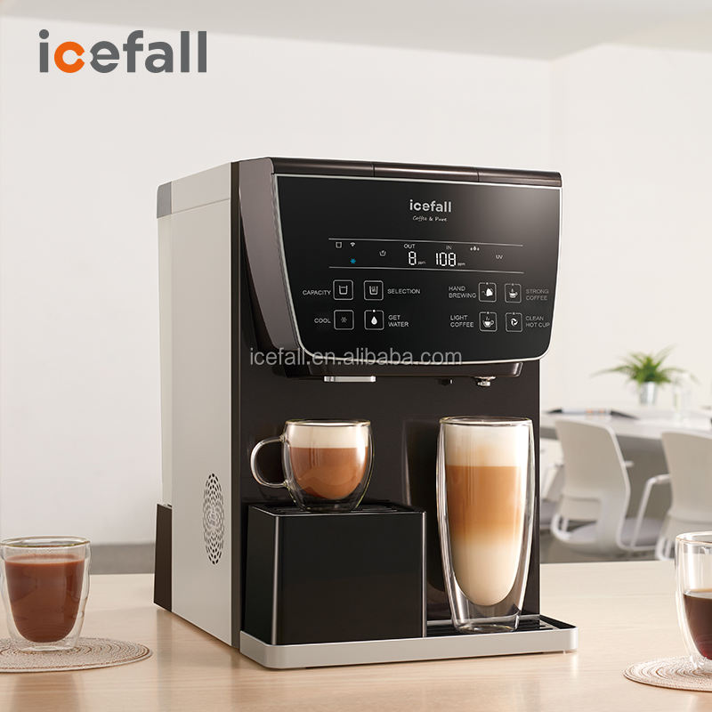 New hi-tech home use 5 stage ro system water purifier capsule coffee machine