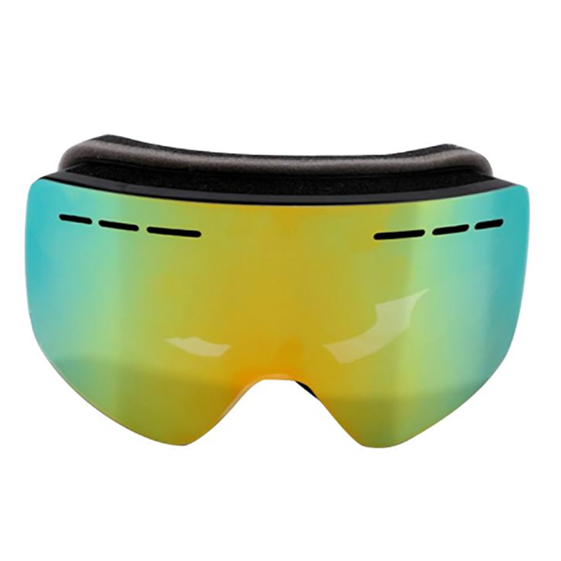 High Quality Magnetic Ski Goggles Custom Logo Anti-scratch Snow Glass Anti-fog Skiing Goggle Shock Resistance Snowboard Glasses