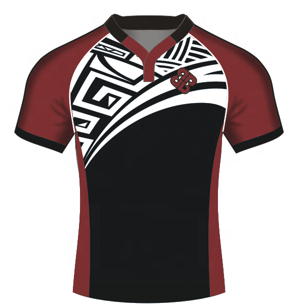 sublimation printing high quality rugby league jerseys school rugby uniform