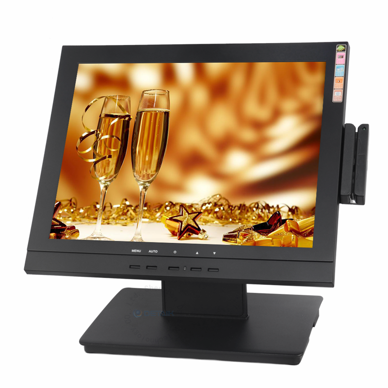 "Shenzhen Produttore 15 ""VGA HD USB Rs232 <span class=keywords><strong>LCD</strong></span> Resistive <span class=keywords><strong>Touch</strong></span> <span class=keywords><strong>Screen</strong></span> Monitor per Computer <span class=keywords><strong>Pos</strong></span>"