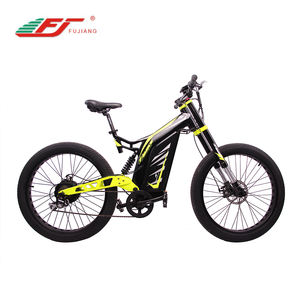750W 1000W 3000W fat tire full suspension electric mountain bike