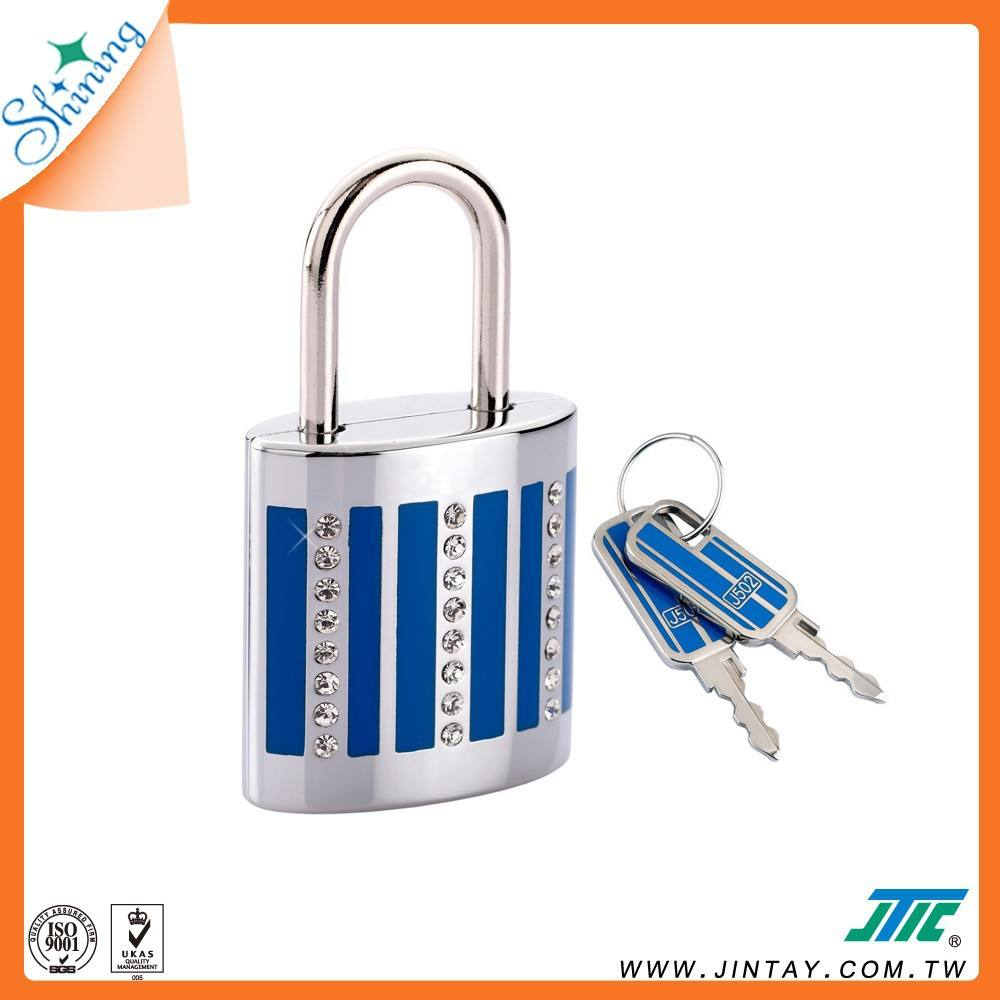Lock Travel Padlock Decorative Key Padlock Travel Padlock For Luggage