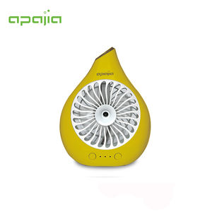 Mini portable battery usb fan with humidifying function