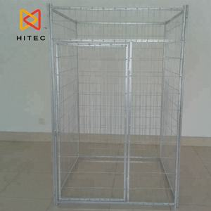 Outdoor Hot Dip Galvanized Wire Mesh Large Dog Fence Large Dog Kennel