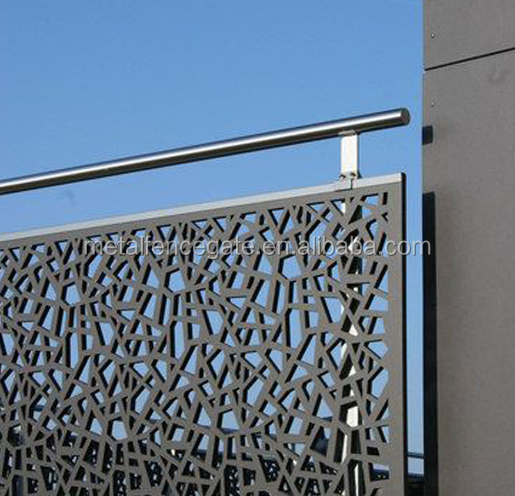 Discount Eco Friendly Feature and Metal Frame Material good quality decorative laser cutting fence