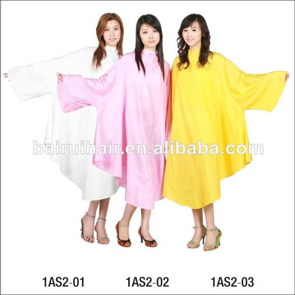 wholesale manufacturer customized barber cape hairdressing cape with long sleeve