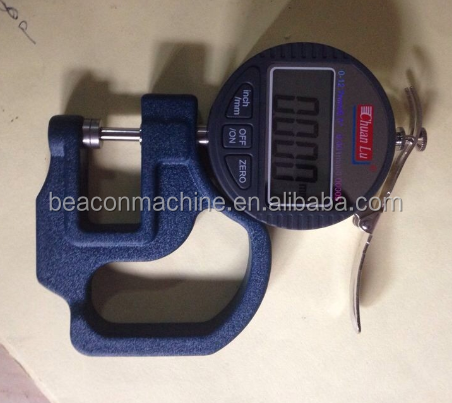 Common rail injector repair shims measuring system tools