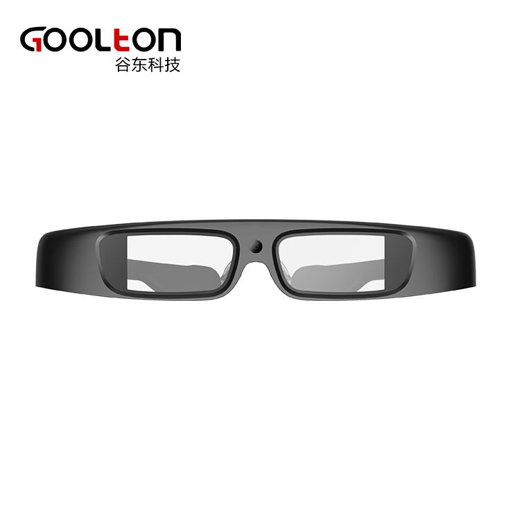 2018 New design Car license and face recognization Optical waveguide augmented reality vr glasses ar headset