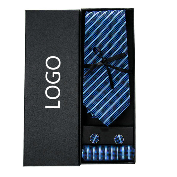 LELE Custom Logo Gift Box Ties for Mens