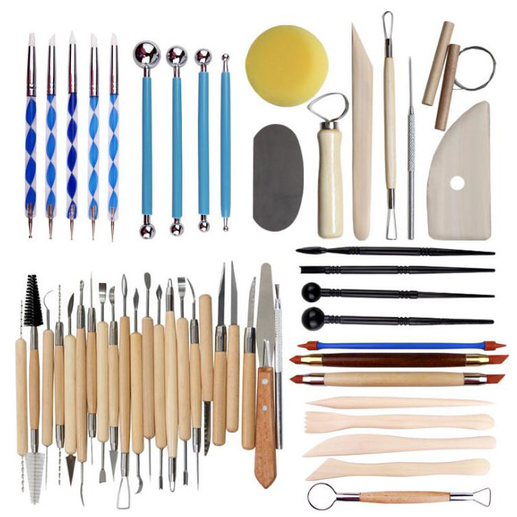 Wholesale Art And Craft Tool Set Different Styles Multifunctional Pottery Sculpture Clay Tools Set