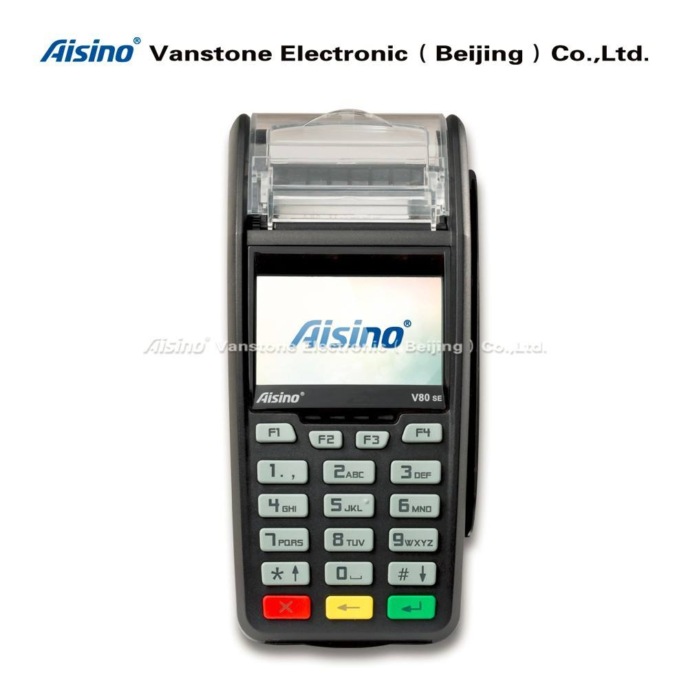 Countertop Touch Screen POS Terminal GPRS/3G Thermal Printer V80SE
