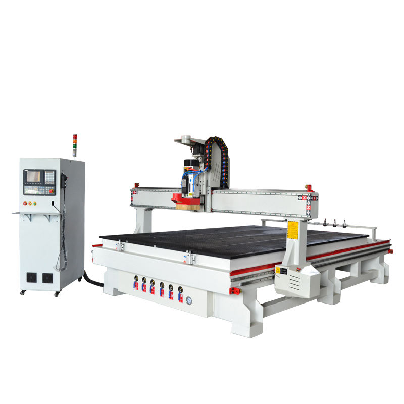 9KW 12kw original imported Italy Hsd Air Cooling Spindle Atc CNC Router for Wood Carving