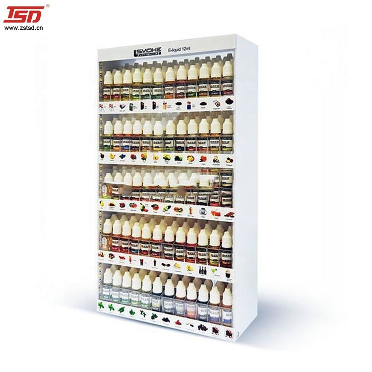retail store acrylic e liquid display,e liquid display rack,e liquid display cabinet