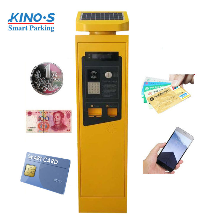Parking Meters China Manufacturers Solar Street Smart Car Parking Meter Machine For Sale