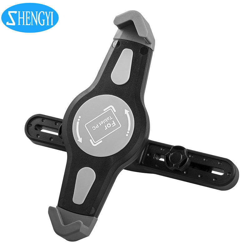 Universal customized logo car back seat mount foldable fly mobile phone dvd car holder