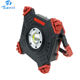15W COB LED Flood Light, Rechargeable Work Light With USB Output, Jobsite Lighting Area Worklight