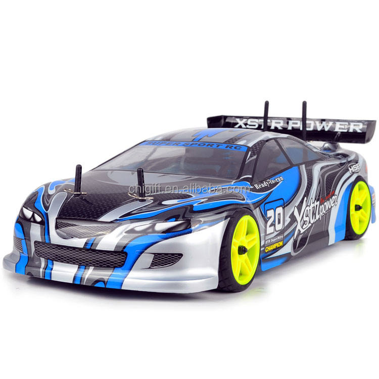 HSP Rc Car 94122 4WD Nitro Gas Power 1/10 Scale On Road Remote Control High Speed Drift Car