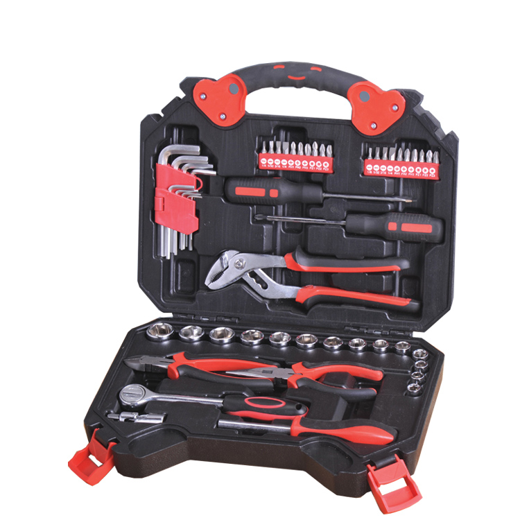 Professional Customized Logo 50 Pcs Socket Mechanic Tool Box Set