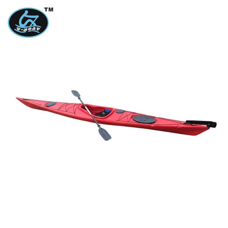 factory direct sale single sea kayak made in China