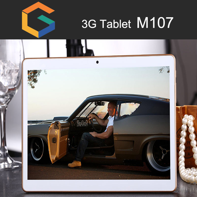 M107 Sem Marca Tablet Android Pc de 10 Polegadas mais barato Tablet Com Firmware Android 6.0 phone call tablets