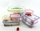 7pcs plastic food storage box plastic box