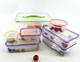 7pcs plastic food storage box plastic box