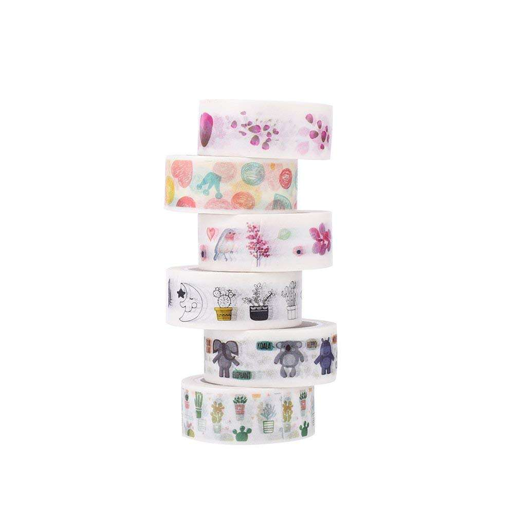 Colorful Kustom <span class=keywords><strong>Membuat</strong></span> Washi Tape Kustom Dicetak Washi Tape