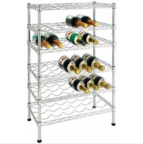 Multi-layer Metal Wire Wine Rack For House