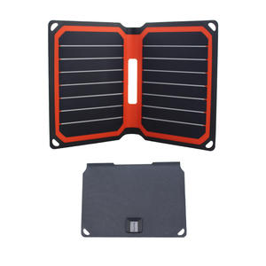 9 W Portabel Solar Charger Super Cepat Charger Ponsel Terbukti CE PCC RoHS Ponsel Smartphone