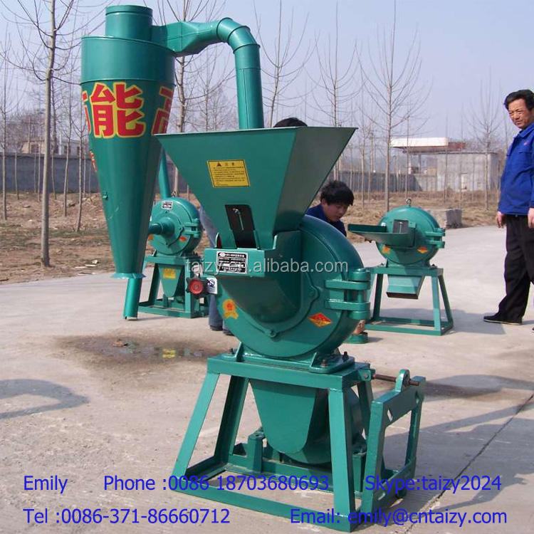 Large capacity full automatic corn grinding mill machine