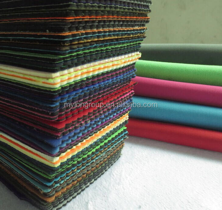 high quality breathable eva foam laminated with fabric