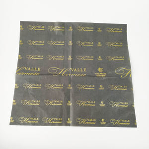 Luxury Quality Customized Brands Name Tissue Wrapping Paper