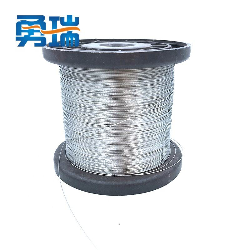 304/316 stainless steel wire rope 0.3mm-6mm 1*7