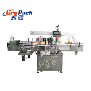 Shanghai Automatische Ronde Fles Labeling Machine/Sticker Labeling Machine