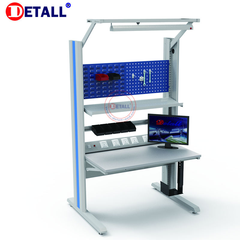 professional producer for esd modular antistatic electric workstations workbench desk service for electronics