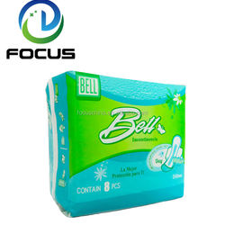Low Price Long Time New Fashion Use Printed Brand Name Sanitary Napkin Manufacturer in China