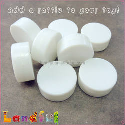Baby Toy Plastic Rattle Discs Inserts Noise Maker for Amigurumi