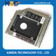 12.7mm sata 2nd hdd ssd caddy for HP EliteBook 8460P 8440P 8530P hard drive caddy