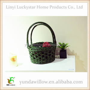 Wholesale Wicker Hanging Fruit Basket With Handle