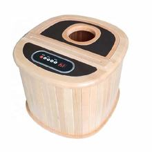 Most Popular Wooden Steam Foot Bath Bucket with Shower Room Sauna