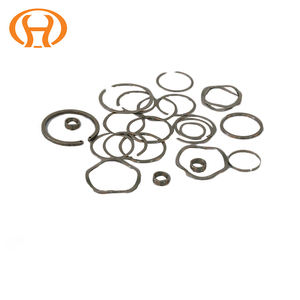 316 Stainless Carbon Steel Cir clips flat wire Snap 링 Cir-clip