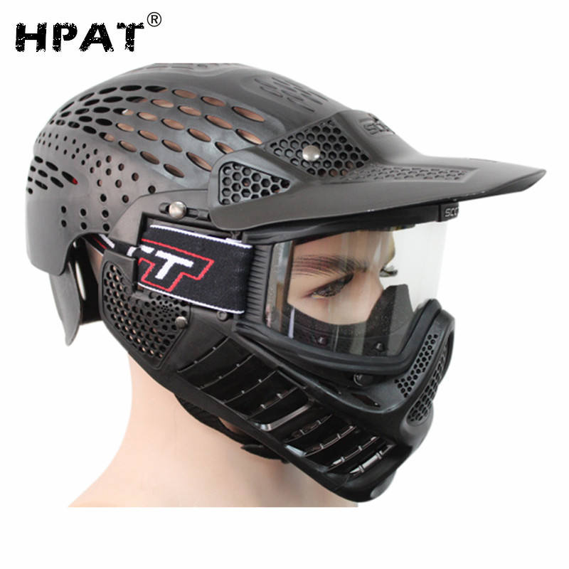 Full Coverage Paintball Mask for Outdoor Shooting CS Archery Activity