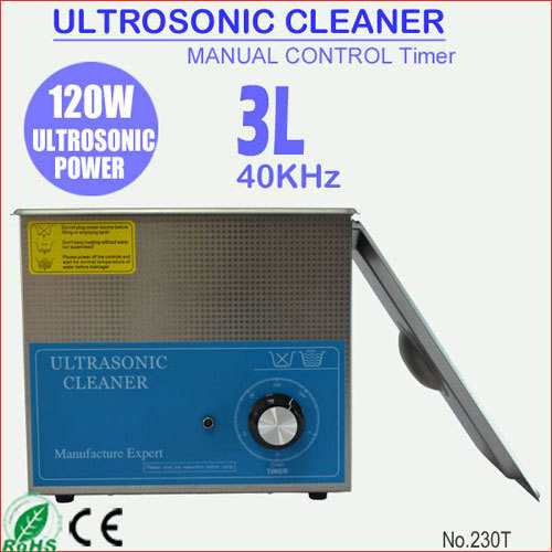 120W 3L Stainless Steel Tabletop Branson Ultrasonic Cleaner