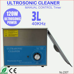 120W 3L Stainless Steel Meja Branson Ultrasonic Cleaner