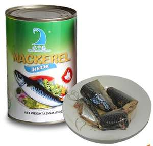 Seafood Manufacturing Company best jack canned mackerel